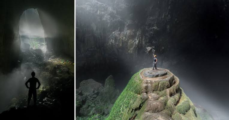 the world's largest cave, which creates a noise by itself