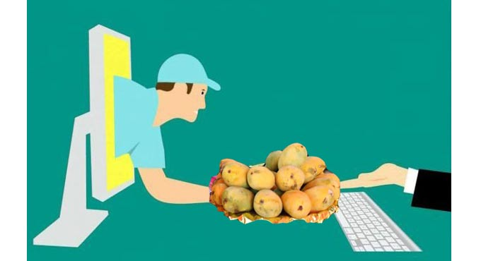 Now, order mangoes online, postman will deliver it home| Khabarlazmi