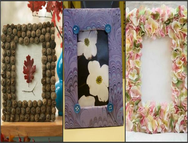 Make collage photo frame at your home from waste| khabar lazmi