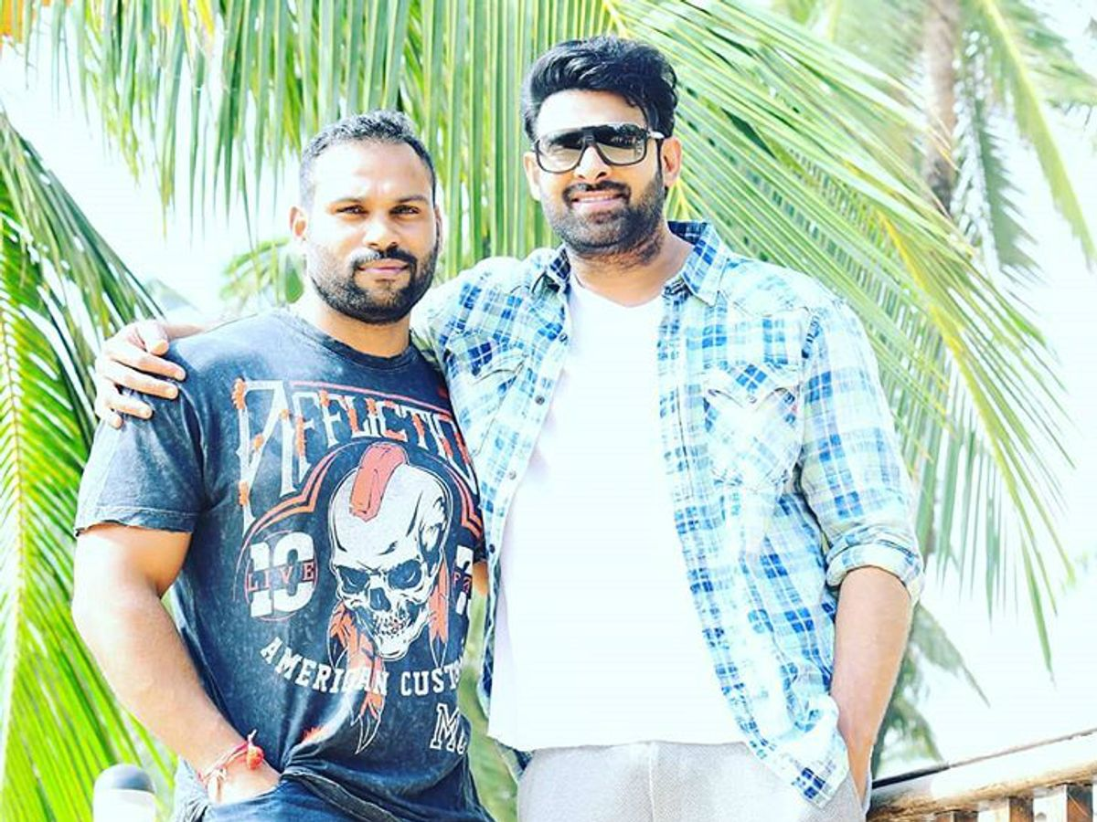 Prabhas And his Gym Trainer
