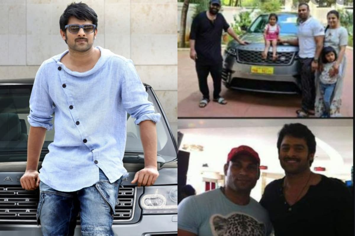 Prabhas Gifted Range Rover to his gym trainer