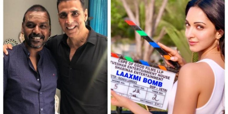 Akshay Kumar dons red bindi to promote his new film 'laxmmi' - खबर लाजमी