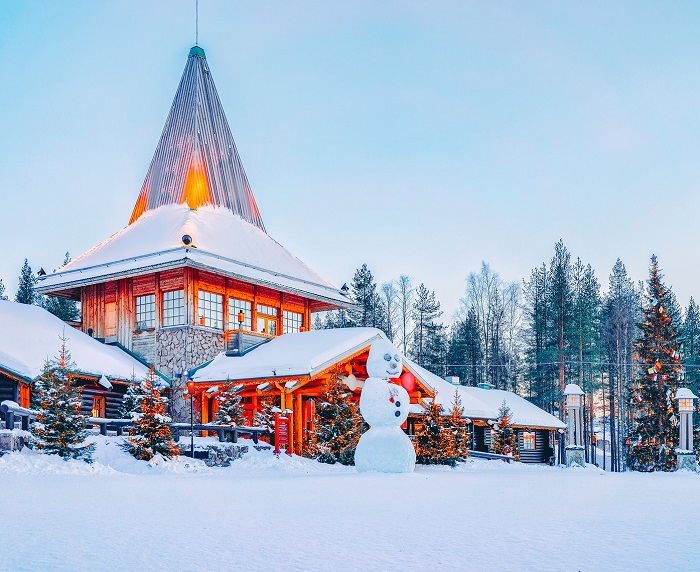 Santa Claus home is present in this place of Finland - ख़बर लाज़मी