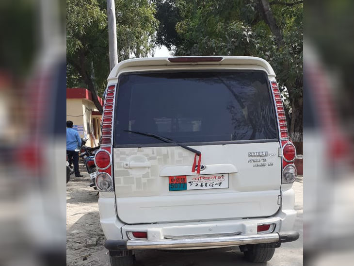 Writing these things on vehicles with a casteist will drive- ख़बर लाज़मी
