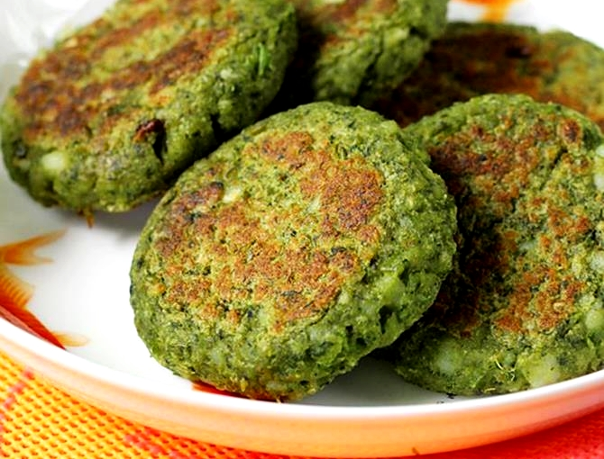 Know the Hindi recipe for making spinach soya cutlet- ख़बर लाज़मी